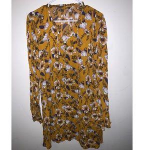 Xhilaration Floral Dress
